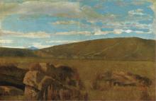 Giuseppe Abbati, Vallata a Castiglioncello