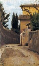 Giuseppe Abbati, Via di Montughi