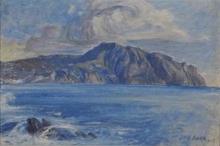 Acke, Immagine costiera nei toni del blu | Kustbild in blatoner | Coastal image in blue tones