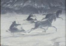 Acke, In slitta sul ghiaccio | Slädfärd på isen | Sleighing on the ice