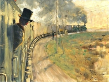 Acke, In treno | På tåget | On the train