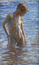 Acke, Ragazzo che fa il bagno | Badande pojke | Bathing boy