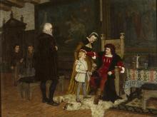 Acke, Re Gustav Vasa di Svezia che viene presentato a re Hans | Gustav Vasa inför kung Hans | King Gustav Vasa facing King Hans