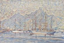 Acke, Velieri a Rio | Segelfartyg i Rio | Sailing vessels outside Rio