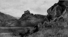 Silvio Allason, Castello di Montaldo Dora