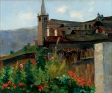 Silvio Allason, Chiesa di Pecetto
