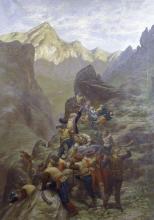 Silvio Allason, Episodio della persecuzione dei Valdesi