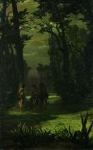 Silvio Allason, Indigeni nel bosco