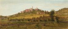 Silvio Allason, Paesaggio sul colle