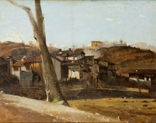 Silvio Allason, Paesaggio