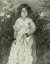 Edmond Aman-Jean, Bambina | Petite fille