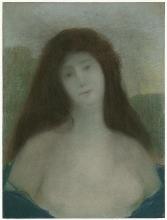 Aman-Jean, Busto di donna   Buste de femme   Bust of a woman
