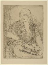 Aman-Jean, Donna con il cestino di frutta | Femme à la corbeille de fruits | Woman with fruit basket