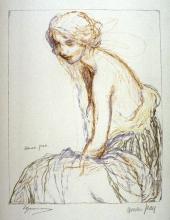 Aman-Jean, Donna seduta | Femme assise | Woman seated