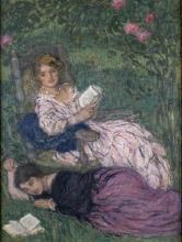 Aman-Jean, Donne che leggono | Femmes lisant | Women reading
