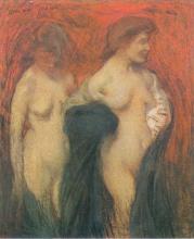 Aman-Jean, Due nudi | Deux nus | Two nudes
