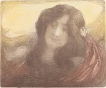 Aman-Jean, Giovane donna con i capelli lunghi | Jeune femme aux cheveux longs | Young woman with long hair