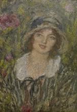 Aman-Jean, Giovane donna con il cappello | Jeune femme au chapeau | Young woman with hat