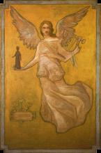 Aman-Jean, La Poesia mistica   La Poésie mystique   The Mystic Poetry
