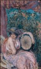 Aman-Jean, La modella con il cappello | Le modèle au chapeau | The model with the hat