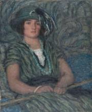 Aman-Jean, La ragazza con la collana verde | La jeune fille au collier vert | The girl with the green nacklace