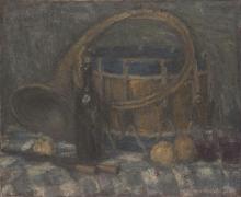 Aman-Jean, Natura morta con corno e tamburo | Nature morte au cor et au tambour | Still-life with horn and drum
