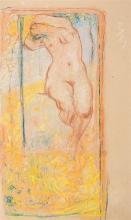 Aman-Jean, Nudo femminile, progetto di decorazione | Nu féminin, projet de décoration | Female nude, decoration project