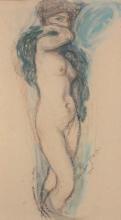 Aman-Jean, Nudo in piedi | Nu debout | Standing nude