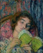 Aman-Jean, Ragazza che legge | Jeune fille lisant | Girl reading
