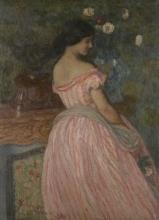 Aman-Jean, Ragazza nella stanza | Jeune fille dans la chambre | Young girl in the room