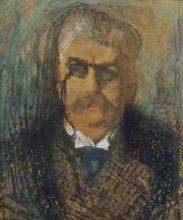 Aman-Jean, Ritratto di Edmond Pigalle | Portrait d'Edmond Pigalle | Portrait of Edmond Pigalle