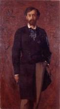 Aman-Jean, Ritratto di Jules Case | Portrait de Jules Case | Portrait of Jules Case