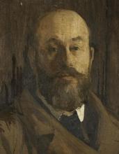 Aman-Jean, Ritratto di Paul Albert Besnard [dettaglio]   Portrait de Paul Albert Besnard (dètail)   Portrait of Paul Albert Besnard (detail)