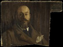 Aman-Jean, Ritratto di Paul Albert Besnard [dettaglio]   Portrait de Paul Albert Besnard (fragment)   Portrait of Paul Albert Besnard (fragment)