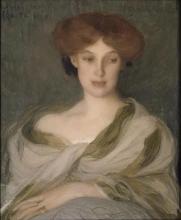 Aman-Jean, Ritratto di donna | Portrait de femme | Portrait of a woman
