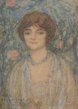 Aman-Jean, Ritratto di donna | Portrait de femme | Woman portrait