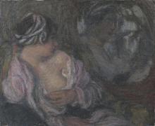 Aman-Jean, Ritratto di donna   Portrait de femme   Portrait of a woman