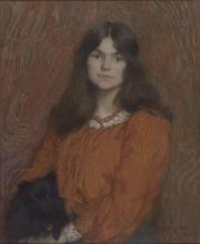 Aman-Jean, Ritratto di ragazza: la signorina Segond | Portrait de jeune fille : Mademoiselle Segond | Portrait of a girl: Miss Segond