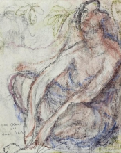 Aman-Jean, Studio di figura   Étude de figure   Figure study