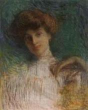 Aman-Jean, Testa di donna | Tête de femme | Head of a Woman