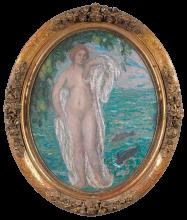 Aman-Jean, Venere drappeggiata   Vénus drapée   Draped Venus