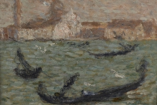 Aman-Jean, Venezia, il Canal Grande | Venise, le Grand Canal | Venice the Grand Canal