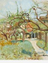 Amiet, Ingresso del giardino | Garteneingang