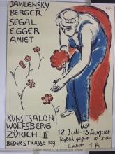 Amiet, Manifesto della mostra Kunstsalon Wolfsberg Zürich 1916: Jawlensky, Segal, Berger, Egger, Amiet.jpg