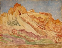 Cuno Amiet, Montagne dell'Engadina | Engadiner Berge