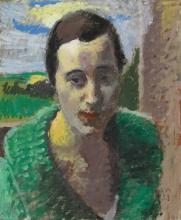 Amiet, Ritratto della signora Rauch | Bildnis Frau Rauch