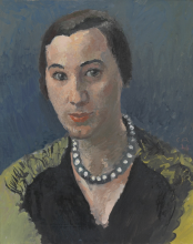 Amiet, Ritratto di Jeanne Rauch-Godot | Bildnis Jeanne Rauch-Godot