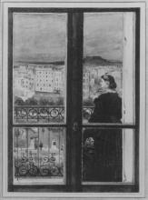 Astruc, Donna sul suo balcone.jpg