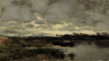 Vittorio Avondo, Barche sul fiume