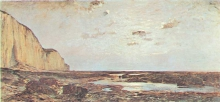 Avondo, Bassa marea in Normandia.jpg